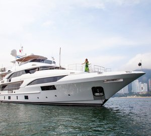 New 40M Benetti Superyacht MINGFA To Debut at Hong Kong Gold Coast Boat Show
