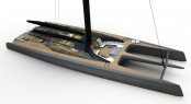 BlackCat Sailing Catamaran Concept