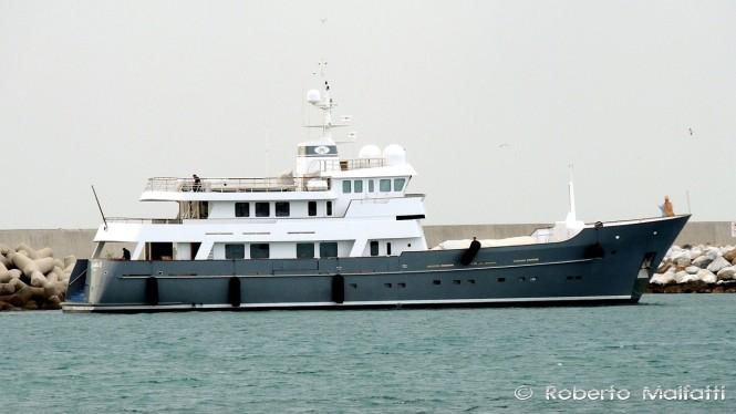 Charter yacht AXANTHA II