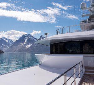 72m Luxury Expedition Superyacht CLOUDBREAK Captured on Sea Trials on the North Sea
