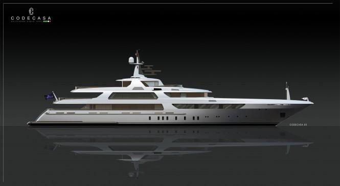 Codecasa 65 Superyacht Concept