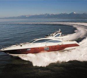 Greece Yacht Charter: Get a Free Day aboard 31m Azimut M/Y DUKE