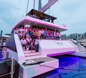 Sunreef Supreme 86 Catamaran EAGLE WINGS Delivered at Singapore Yacht Show