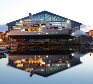 Luxury SuperYacht EQUUS Launched by Benetti in Italy