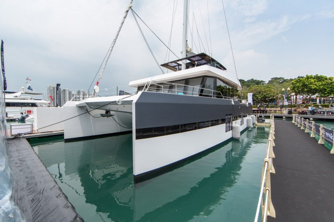 Eagle Wings at the Singapore Yacht Show 2016