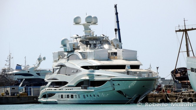 FB 262 Yacht by Benetti - LIONHEART - Photo by Roberto Malfatti