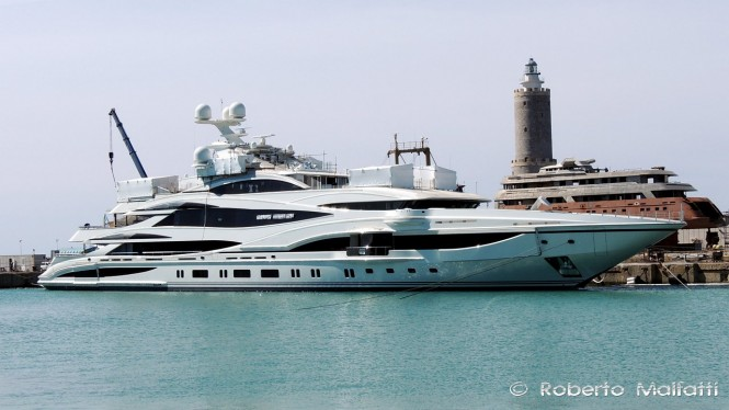 FB 262 by Benetti - Photo by Roberto Malfatti