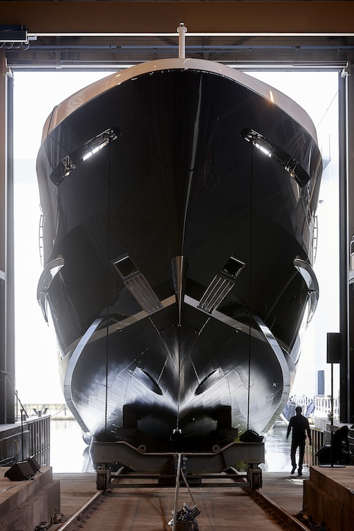 Heesen Yachts Project Akoya - photo by Dick Holthuis
