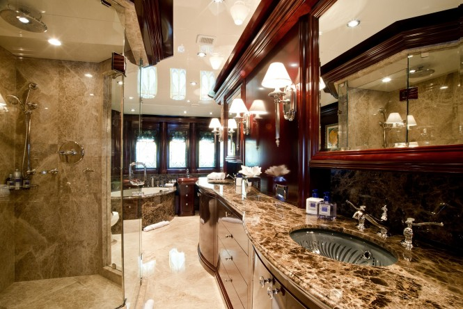 Vs Master Bathroom En Suite: Luxury Yacht Charter & Superyacht News
