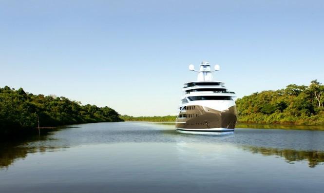 Luxury explorer yacht SEA HAWK project
