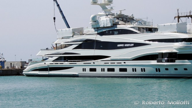 Luxury vessel FB 262 by Benetti - Photo by Roberto Malfatti