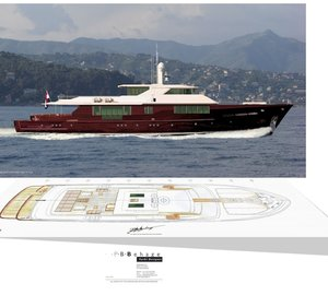 P.B. BEHAGE Unveils New 45m Motor Yacht Concept EASTERN RED