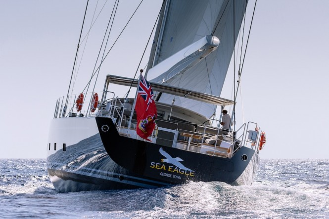 Royal Huisman S/Y Sea Eagle © Carlo Baroncini Photography