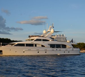 Special Yacht Charter Offer in West Med: 100' Benetti Classic Superyacht SALU