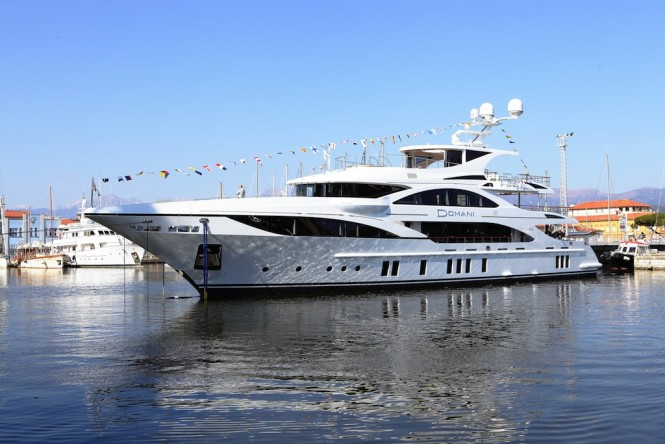 Superyacht DOMANI launched