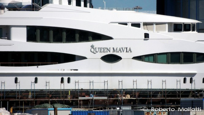 Superyacht QUEEN MAVIA - photo by Roberto Malfatti