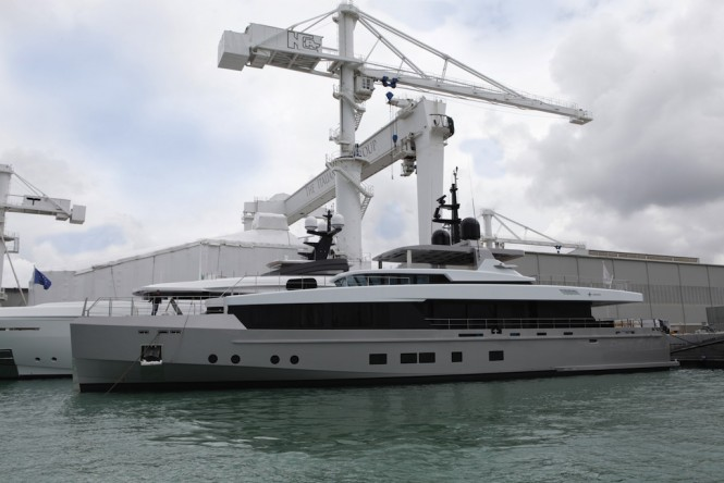 Superyacht TREMENDA launched