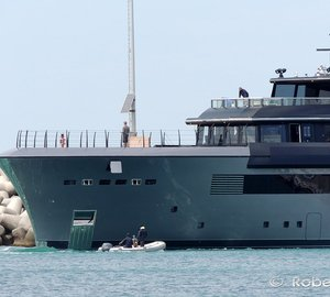 Video: 54m CRN 134 Luxury Superyacht ATLANTE leaving for Sea Trials