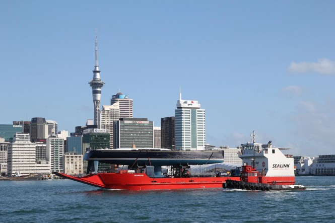 CYGNUS MONTANUS in Auckland being transported for launch