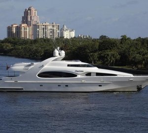Newly Refitted CHARISMA Available for Bahamas Yacht Charter with No Repositioning Fees