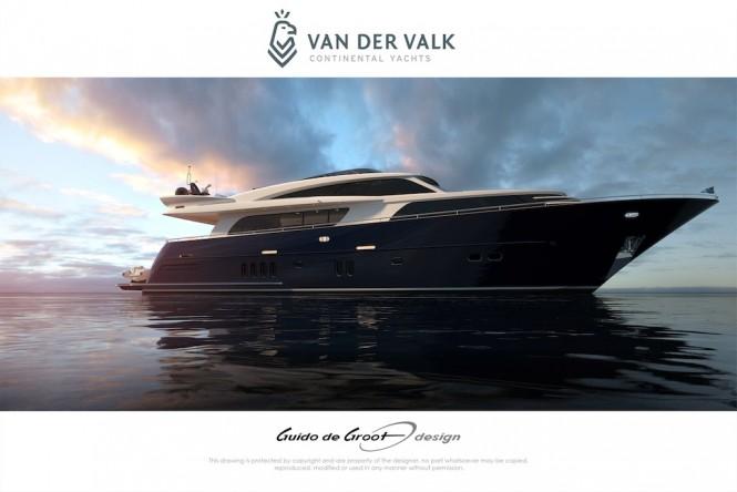 Continental Three Superyacht by Van Der Valk