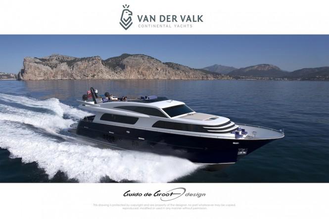 Continental Three Superyacht by Van Der Valk  - profile