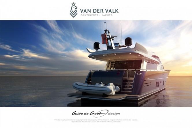 Continental Three Tacht by Van Der Valk