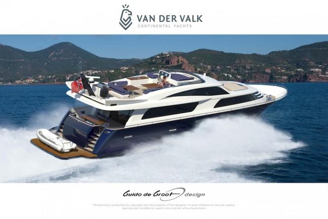 Continental Three by Van Der Valk running