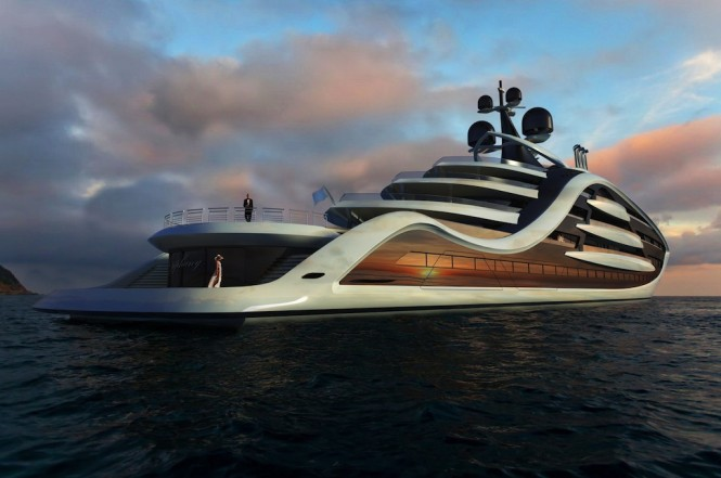 EPIPHANY Mega Yacht Concept By Andy Waugh
