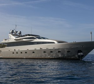 Fast and Sporty Charter Yacht LUMAR High Season Special in Greece