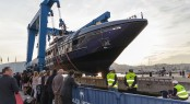 Launch of Baglietto 46M FAST