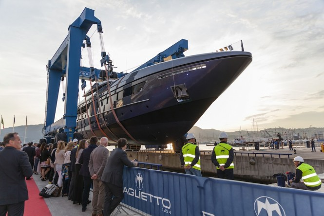 Launch of Baglietto 46M FAST