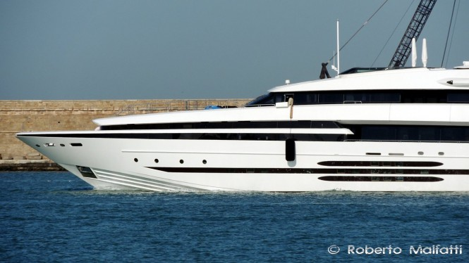Luxury Yacht Balista - Photo by Roberto Malfatti