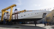 Mangusta 165 Hull 10 at launch Archivio Overmarine Group : Emilio Bianchi