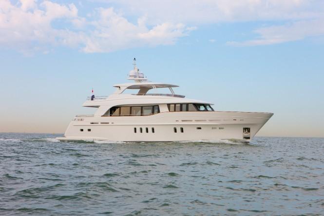 Unforgettable croatia yacht charter vacation aboard brand for Motor yacht charter croatia