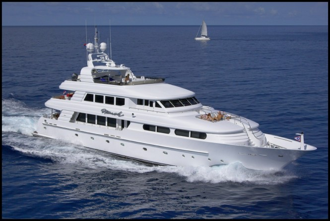 NAMOH available for charter in the Caribbean and Bahamas