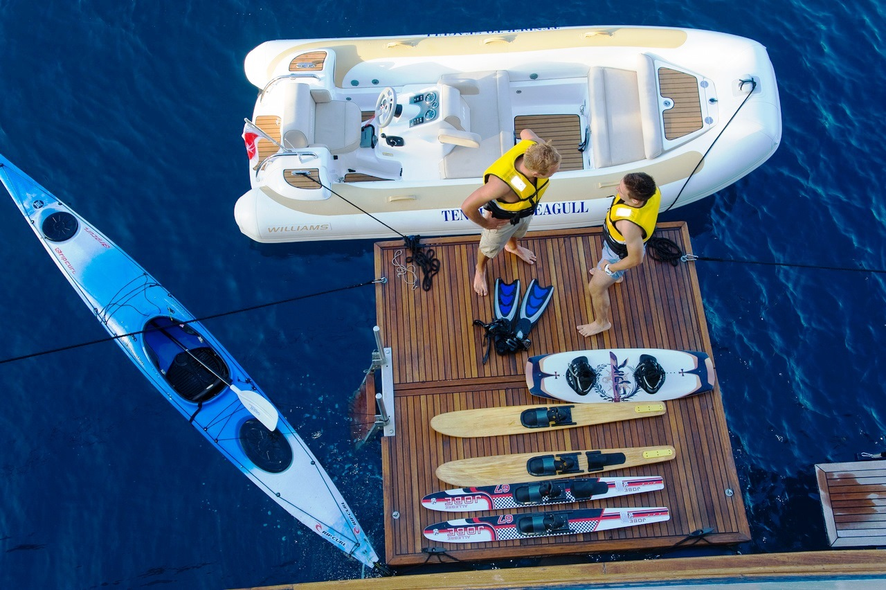 Seagull Ii Watersport Toys Yacht Charter Superyacht News