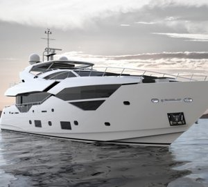 Sunseeker 116 Superyacht Splashes in UK
