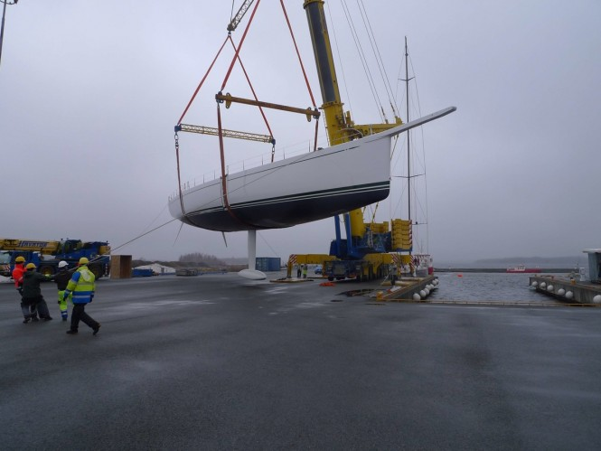Sailing Yacht HIGHLAND FLING 15 at launch
