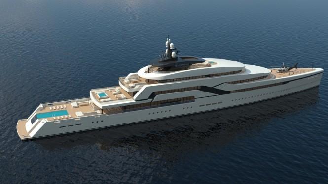 Superyachten concept  NaoYacht D&E Unveils New Mega Yacht Concept SENSATIONS II — Luxury ...