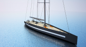 Sussurro 40m sailing yacht concept