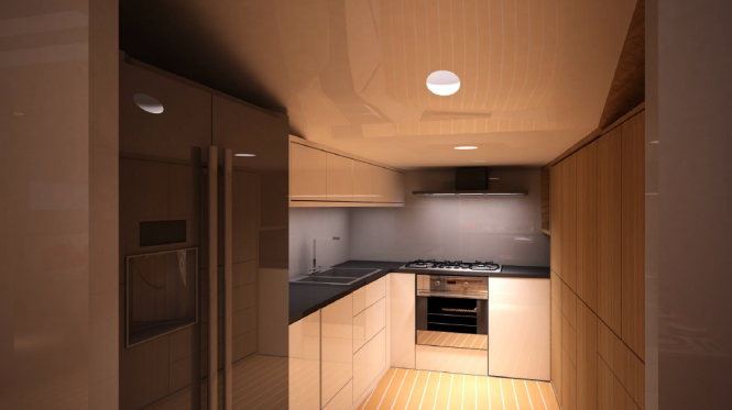 Sussurro galley
