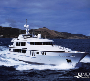 46m (150') Luxury Charter Yacht CLAIRE: No Repositioning Fees in Florida and Bahamas