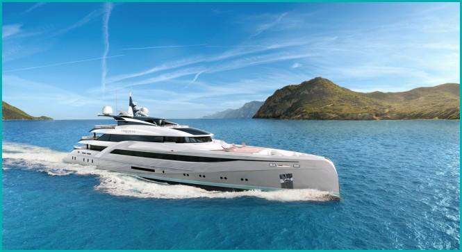 Turquoise  66m Design by Nuvolari Lenard