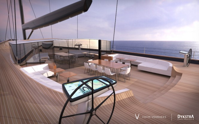 Adam Voorhees new sailing yacht concept