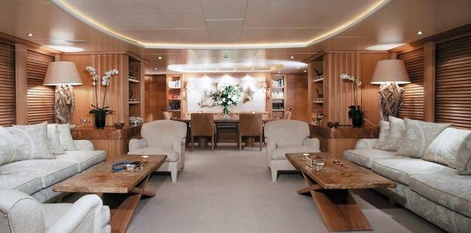 Motor yacht Alexandra - Saloon