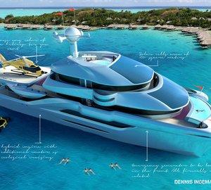 50M 'FOLLOW THE SUN' Ultra-Luxurious Catamaran by Dennis Ingemansson
