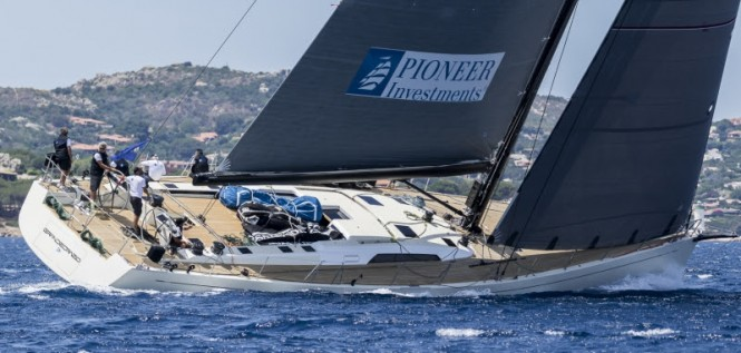 Grande Orazio, Loro Piana Superyacht Regatta 2016. Photo Carlo Borlenghi