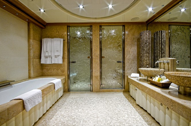 KIJO Bathroom Luxury Yacht Charter Superyacht News