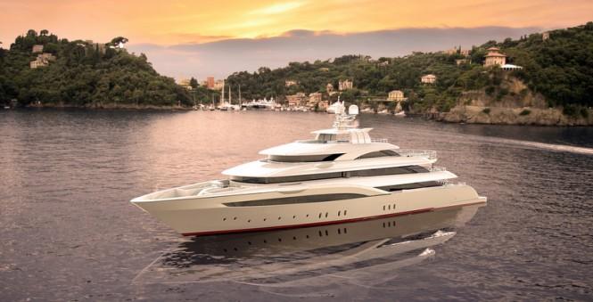 Luxury yacht OPari3